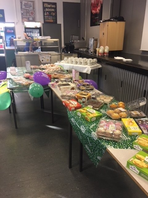 Cakes for sale for MacMillan